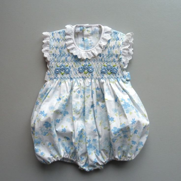 smocking and embroidery...just fabulous clothes