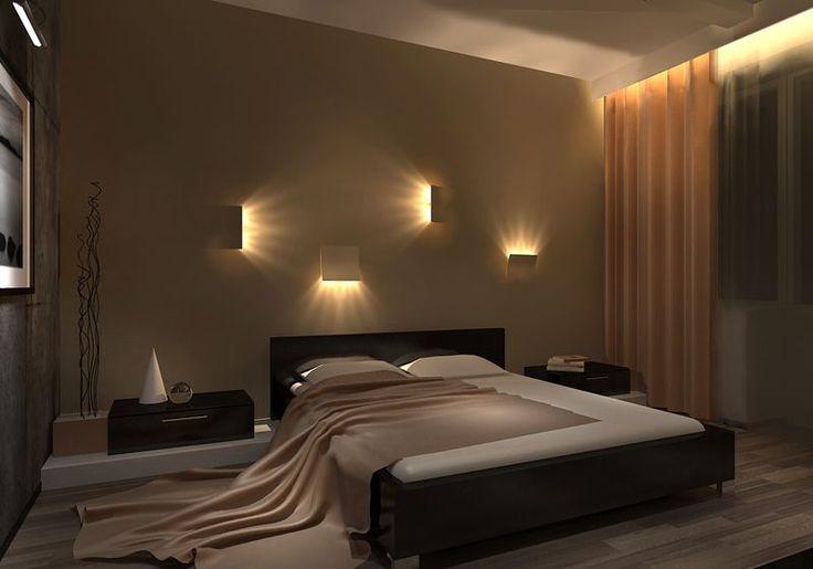Современный дизайн спальни в доме (фото интерьеров)   ТЕХНОГРАФ