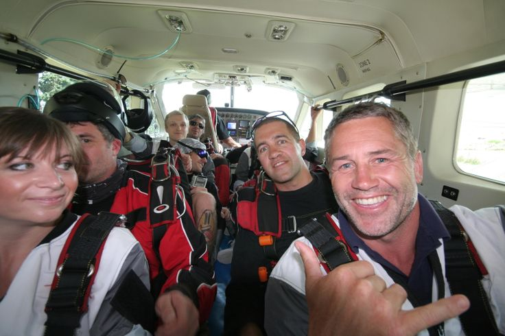 NZ rugby legend Marc Ellis ready to skydive above Queenstown