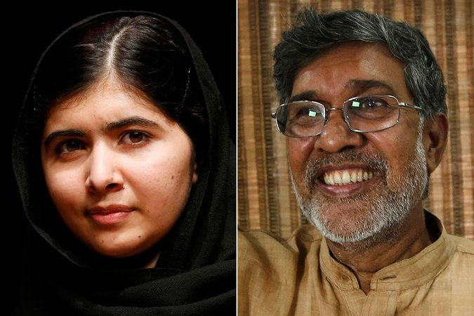 One of our favourite inspiring ladies, Malala Yousafzai is awarded the Nobel Peace Prize!
