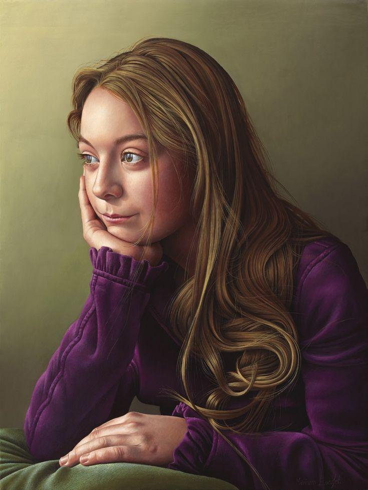 Miriam Escofet Portrait Paintings