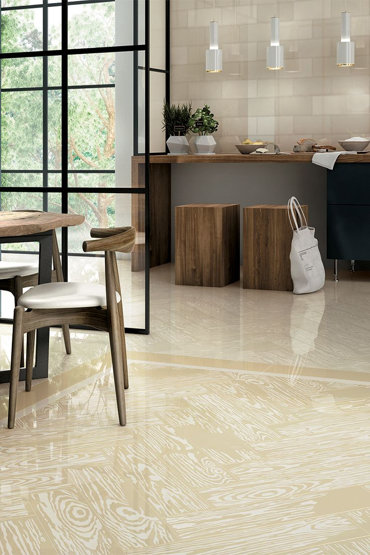 PoP White & Beige | The PoPjob #colour range includes six #colours characterised by neutral and pastel tones | #design #designinspirations #interior #interiordesign #studiojob #porcelaintile #livingdesign #PoPjob #woodeffect #ceramic #white #beige #carpet
