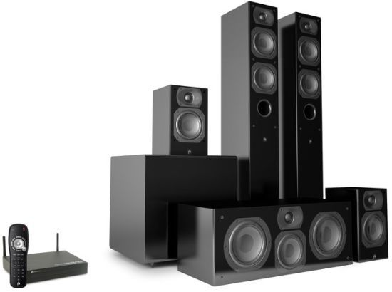 Aperion Wireless Home Theater Speaker System