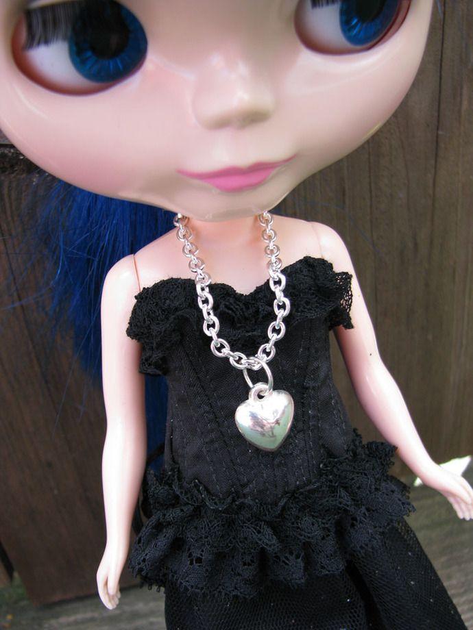 Heart Doll Necklace for #blythe #pullip #dal #monsterhighdolls