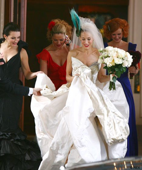 Carrie Finally Walks Down The Aisle But Is It Hily Ever After