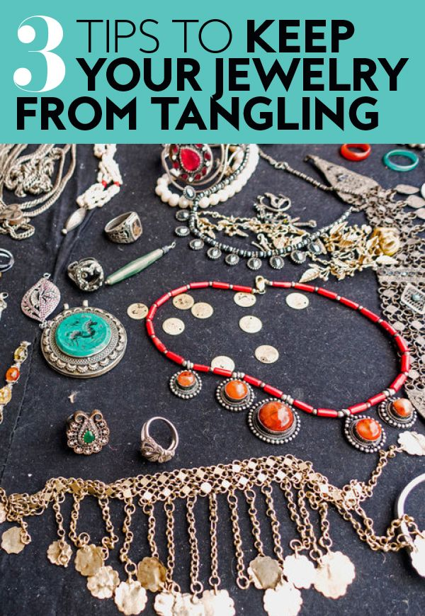 Say goodbye to spending your first hour of vacation untangling necklaces.