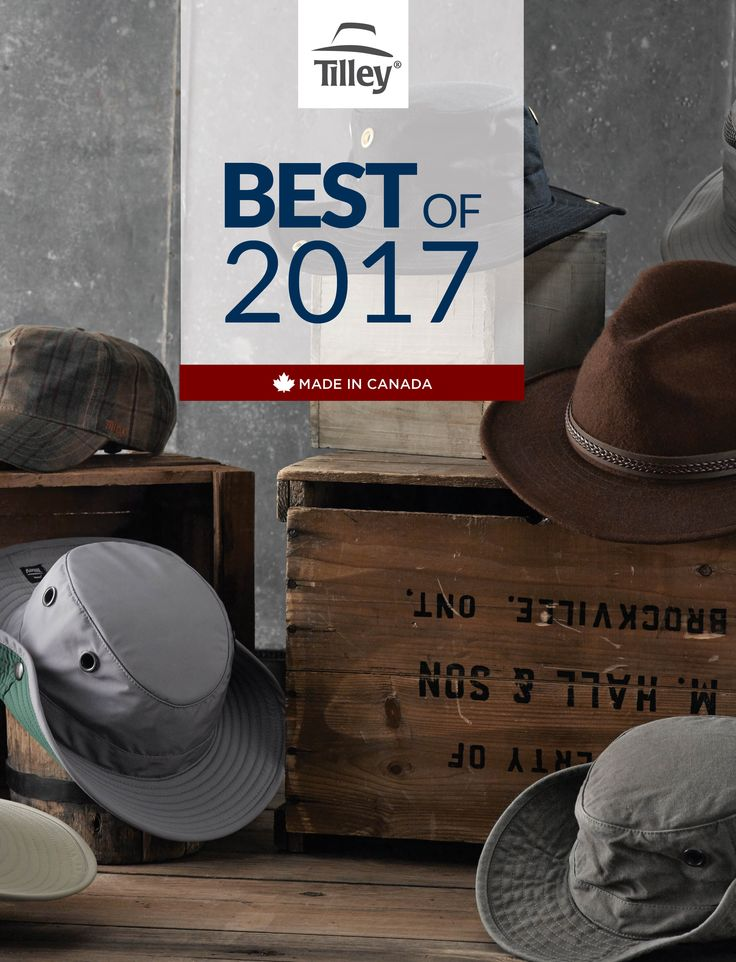 The best Tilley hats of 2017!