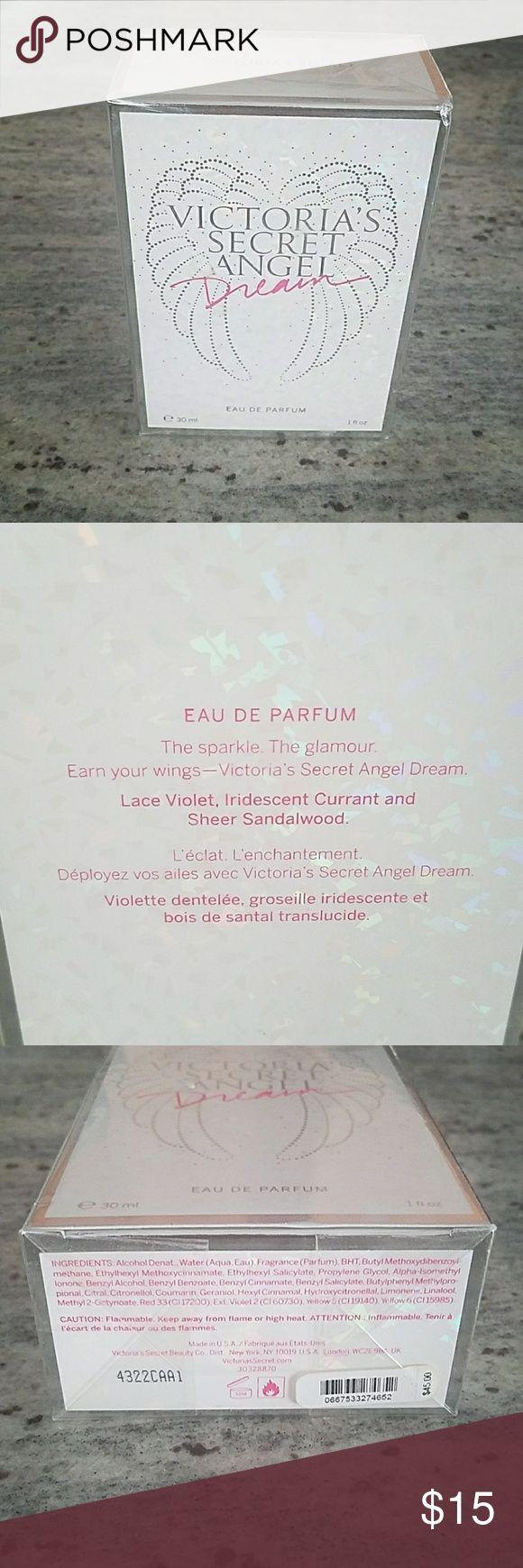 Victoria's Secret Angel Dream perfume 1 fl oz (30ml) of Eau De Parfum - Victoria's Secret Angel Dream. Comes in original box and is unopened (clear wrap still around box) Victoria's Secret Other