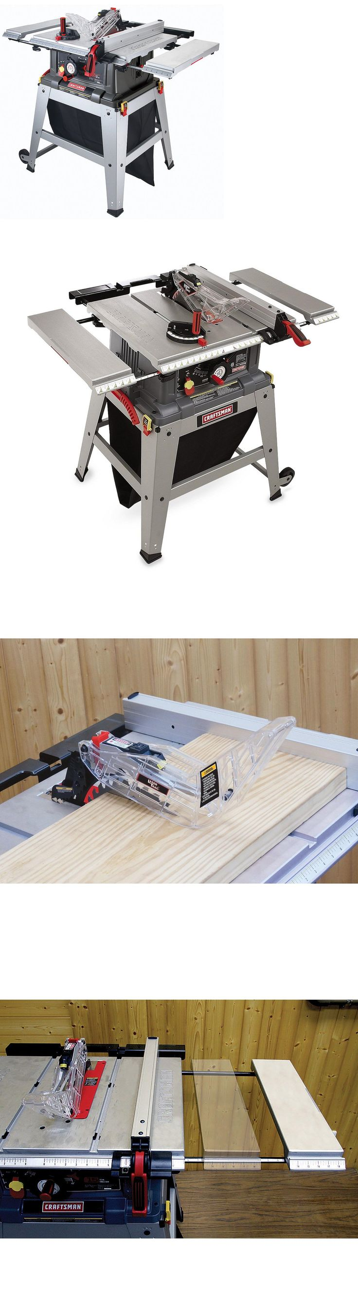 Table Saws 122835: Craftsman 10 Inch Portable Table Saw With Laser Trac -> BUY IT NOW ONLY: $269.99 on eBay!