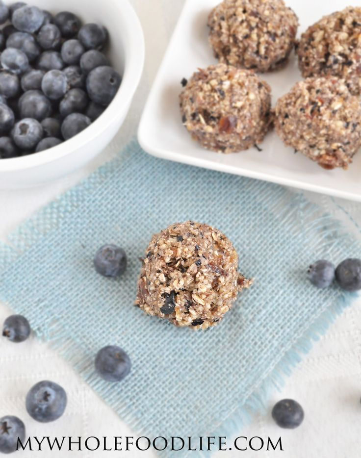 Blueberry Muffin Bites - My Whole Food Life