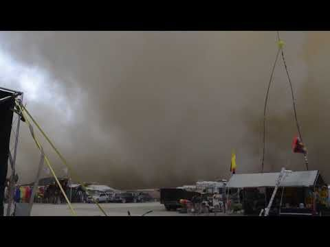 VIDEO: Burning Man 2017 - Dust Storm Real Deal