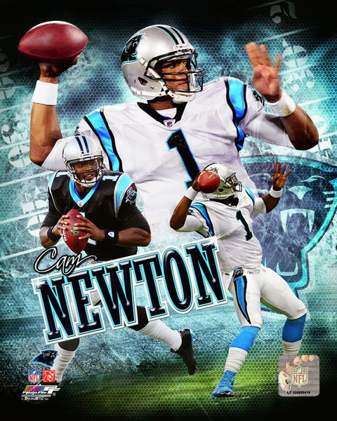 Cam Newton Carolina Panthers Licensed Un-signed Picture Poster Print 8x10 Photo from $6.99