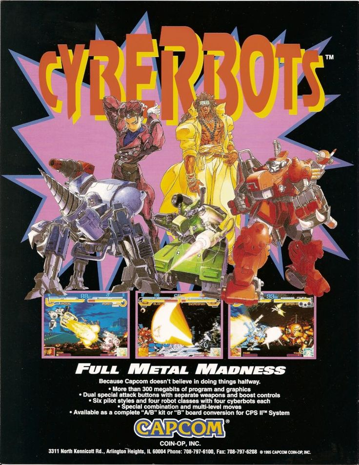 Cyberbots - Full Metal Madness