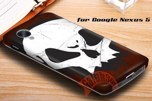 Grunge Skull Google Nexus 5 Case Cover | galuh303 - Accessories on ArtFire
