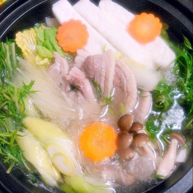 やっぱり鴨は最高です(*^-^*) - 35件のもぐもぐ - 鴨鍋 by hanakohanako05