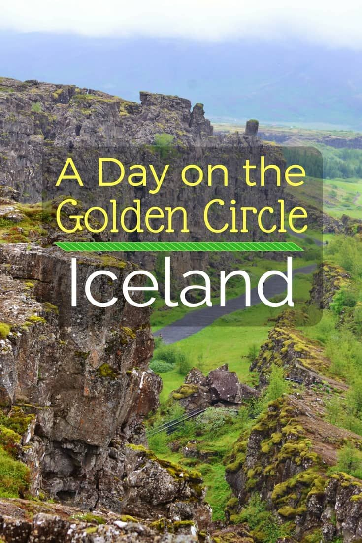 Spend one day on the Golden Circle in Iceland and see waterfalls, geysirs, hotsprings  and more!