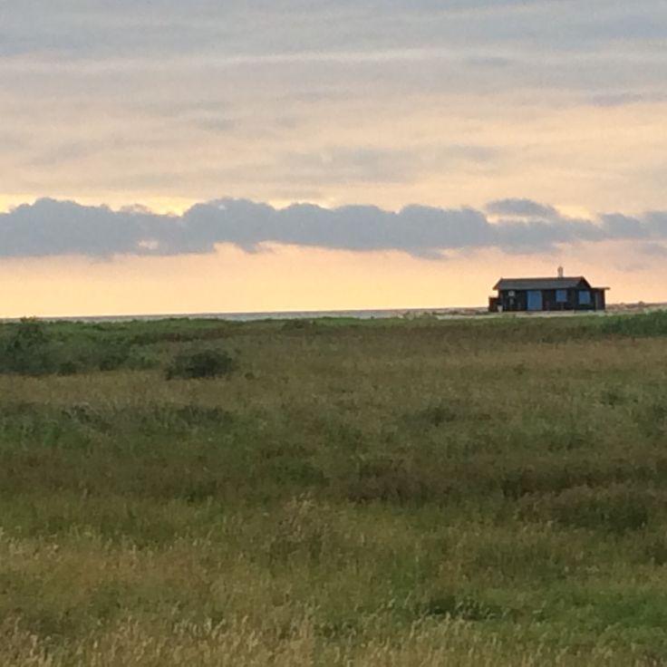 solnedgang ved Flyndersø