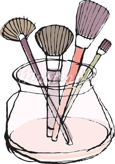 Makeup Clip Art: 115 Best Images About Illustration Makeup On Pinterest