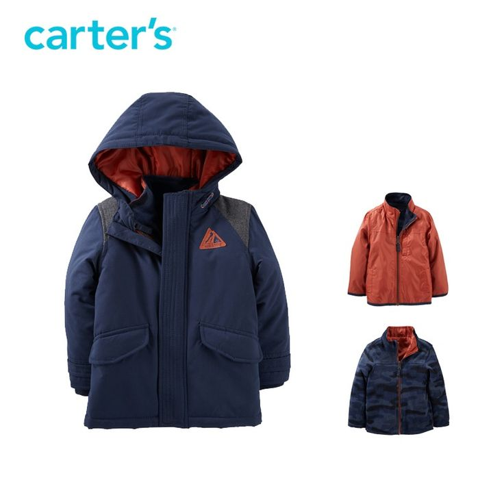 Nice Carter's 1pcs baby children kids 3-in-1 Jacket CL166X31,sold by Carter's China official store - $65 - Buy it Now!