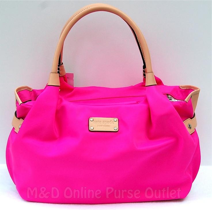 Kate Spade Bag Hot Pink