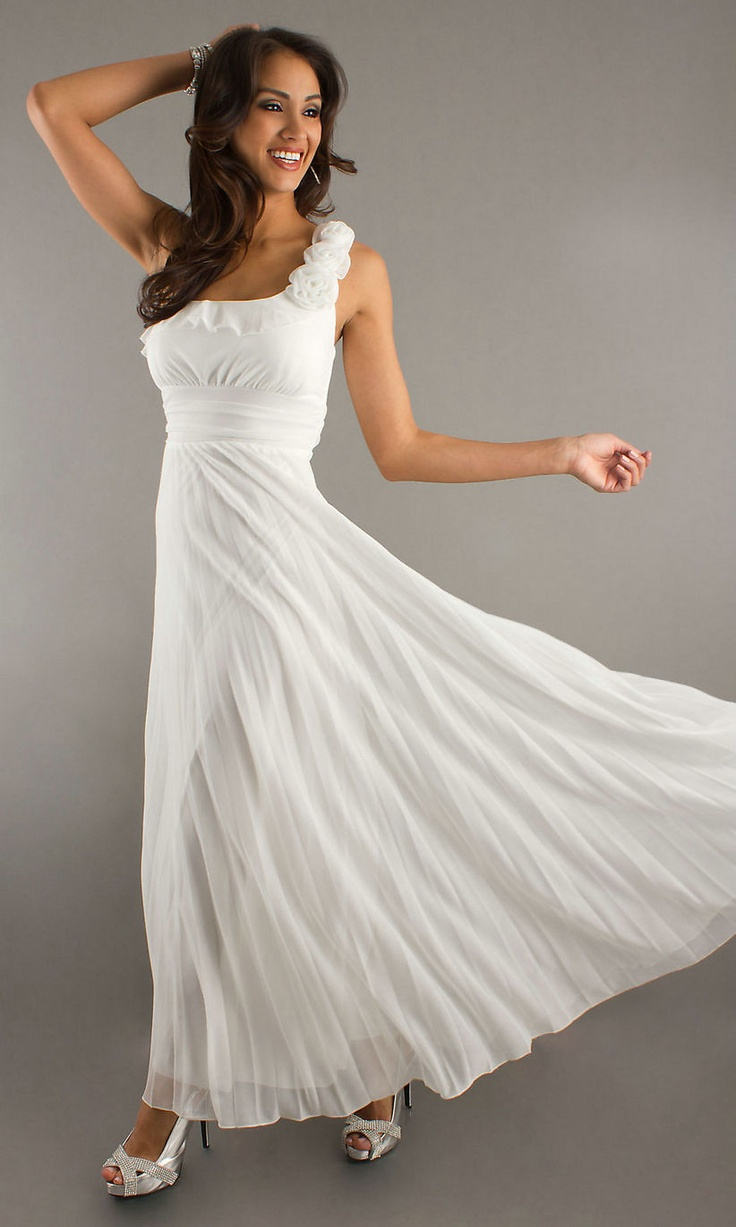 Flowy And Simple Second Wedding Dress Dream Wedding Pinterest Second