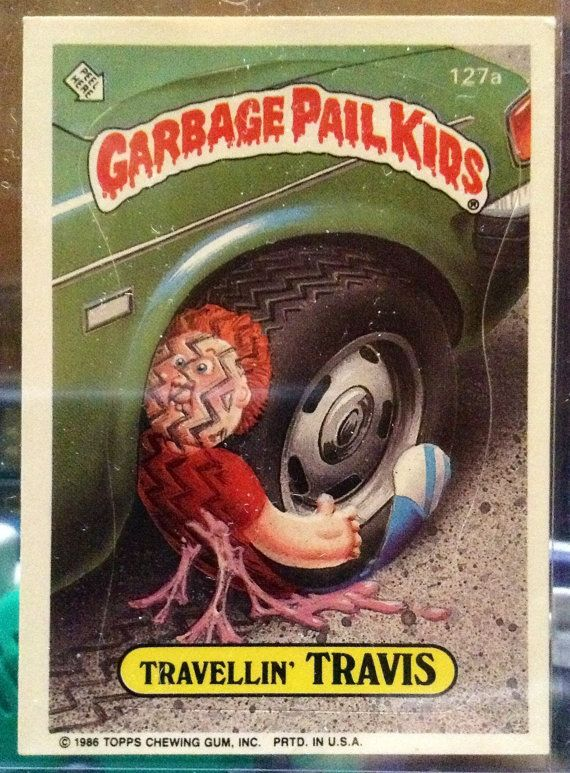 1986 Topps Garbage Pail Kids Trading Card 127a by LEATHERGLACIER, $2.00