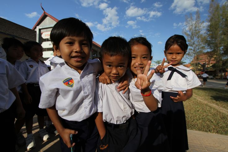 The coolest kids on the block! Cambodia, South East Asia