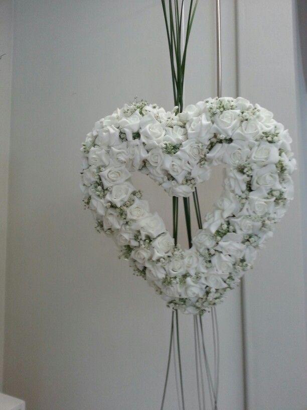 X la sposa romantica....ho fatto un cuore