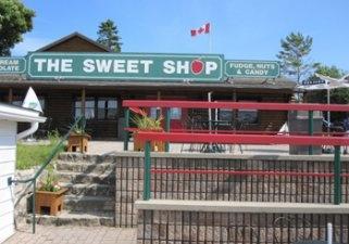 The Sweet Shop, Tobermory, Ontario.