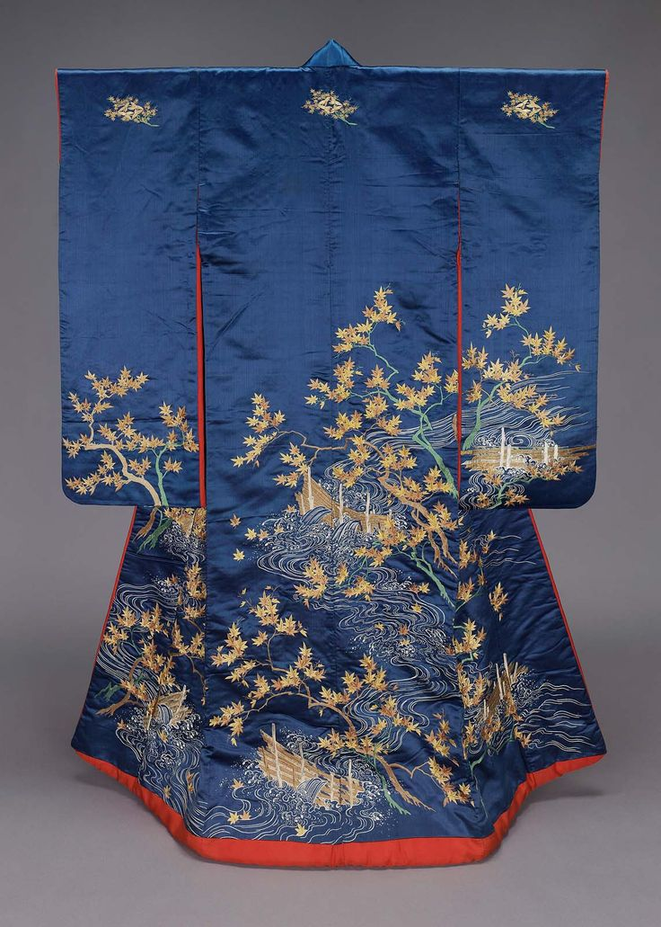 Kimono (furisode) | Museum of Fine Arts, Boston