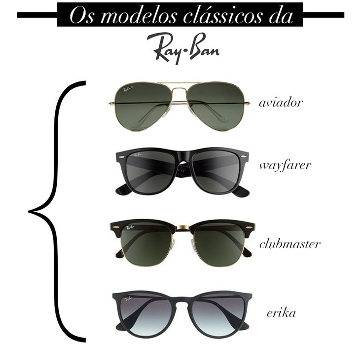 ray ban modelos  estilo meu consultoria de imagem rayban ray ban / sunglass óculos de sol
