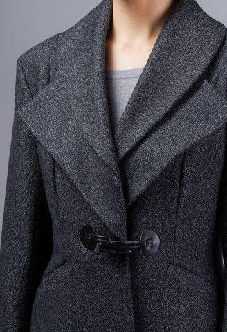 Wool Tweed Coat – GEHRICH