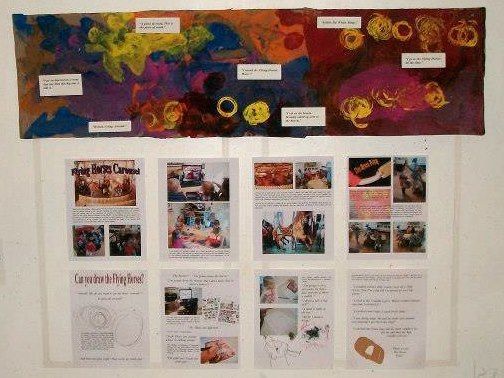 documentation engages children and sustains interest in a project at Garden Gate Child Development Center