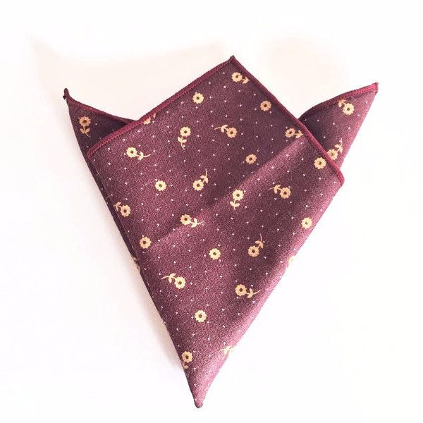 The Flowery Pocket Square — ₹1,562.93 INR
