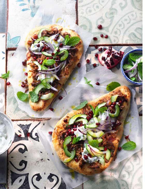 Authentic Turkish pizza, ,