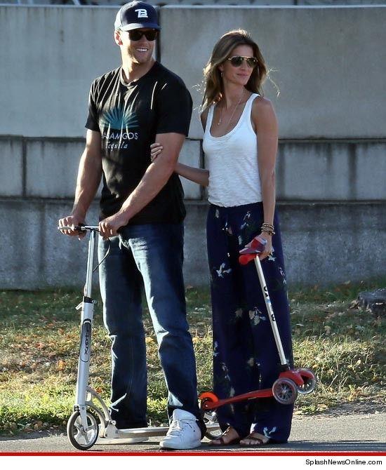 Super Bowl Star Tom Brady's Family , Wife ( Gisele ...