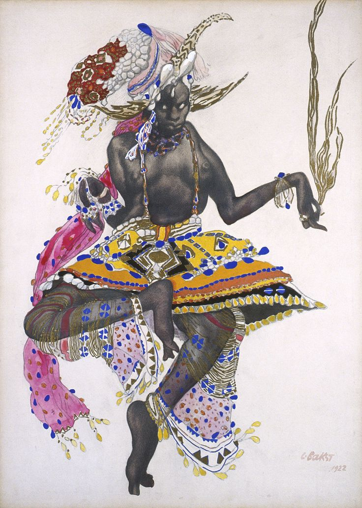 Costume Design for Ballet Russes by Léon Bakst