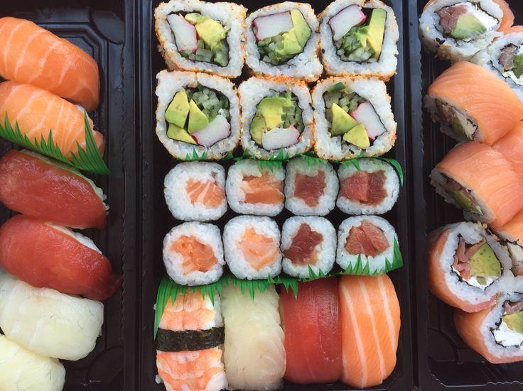 Sushi van de Carrefour in Spanje is erg lekker!