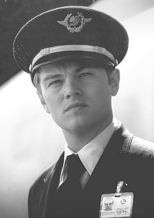 Frank Abagnale Jr (Leonardo DiCaprio) in Catch Me if You Can. He's one of my fictional heroes!