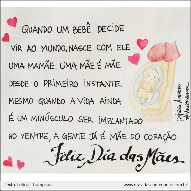 Uma ilustração feita com amor para todas as mamães e futuras.    ➡️@studiopapelamor❤️#muitoamor #dialindo