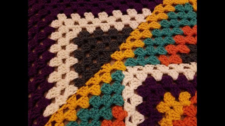Kaleidoscope Granny Square Blanket Crochet Along (pt. 3.2)