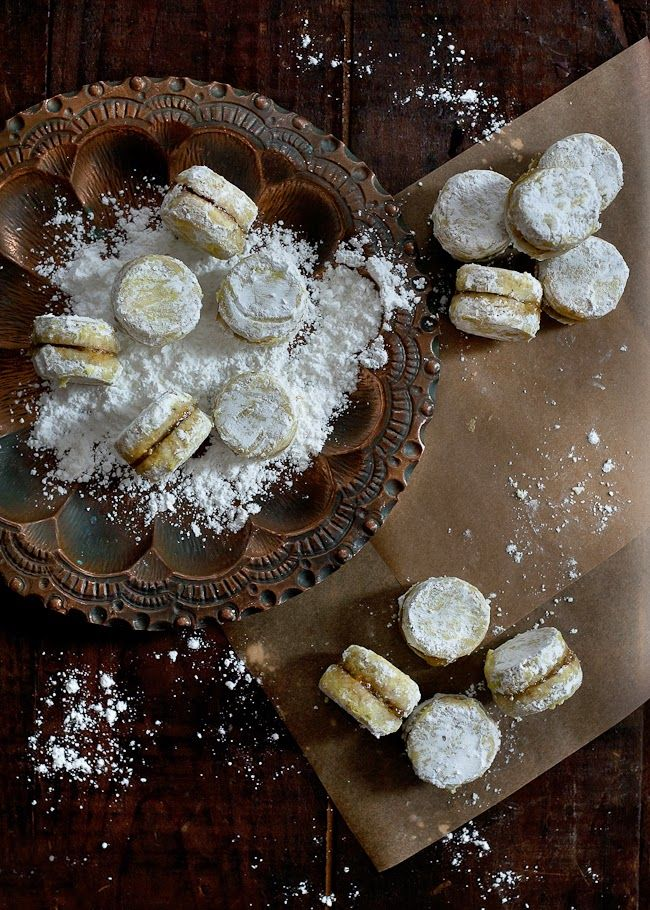 Pistachio Orange Blossom Winter Cookies
