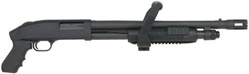 "Mossberg 500 SP Chainsaw 12 Ga Shotgun 18.5"" Barrel"