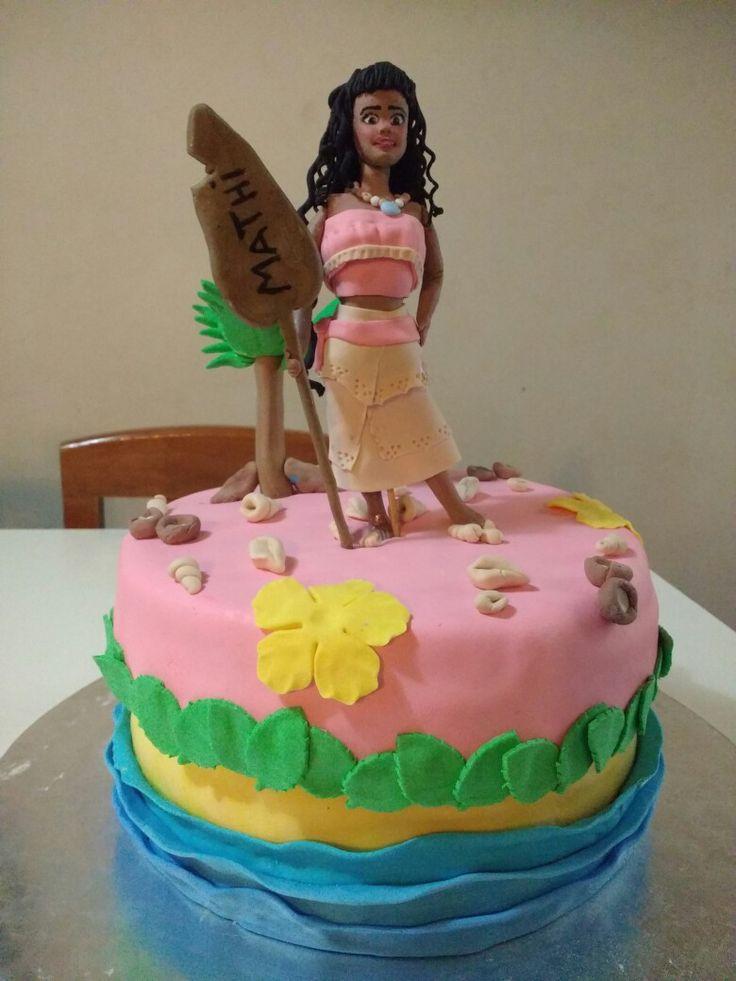 Moana cake 😂😂