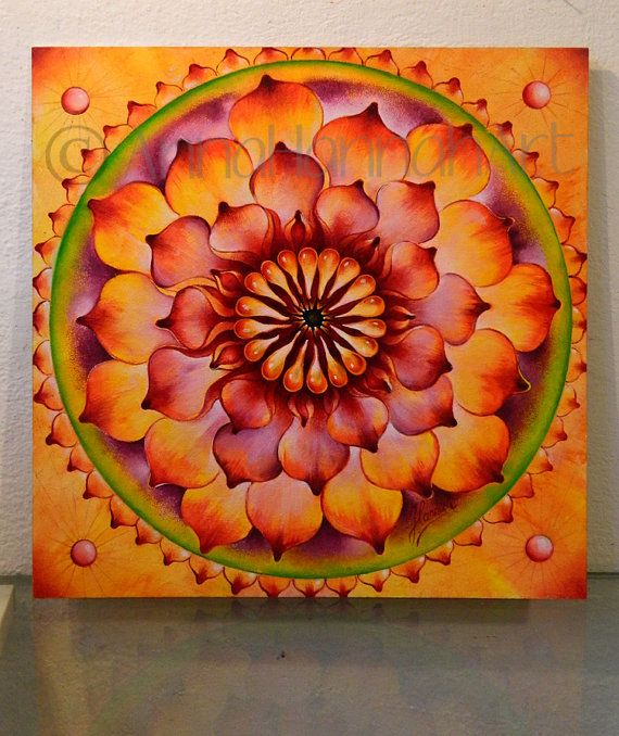"Vibration of Joy & Life from the series ""MANDALAS"""