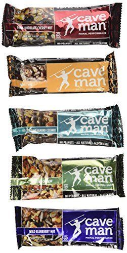 Caveman Foods Primal Performance Caveman Bar Variety (Pack of 10) (2 each of 1.4 OZ) - http://exclusivelypaleo.com/caveman-foods-primal-performance-caveman-bar-variety-pack-of-10-2-each-of-1-4-oz-2/ -
