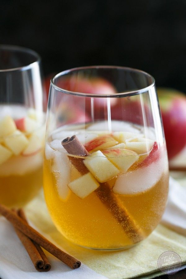 This cocktail has all the aromas of Fall and the cinnamon pear simple syrup gives just the right amount of sweetness! The perfect cold weather cocktail.