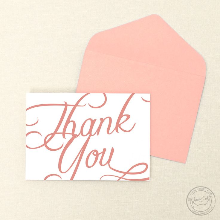 bridal shower thank you cards etiquette%0A Bring some elegance to your thank you cards with the Scripted suite     Wedding Invitations