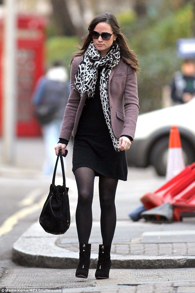 Who will design it? Red-hot favourite is Giles Deacon, who was spotted visiting Pippa and mum Carole at home