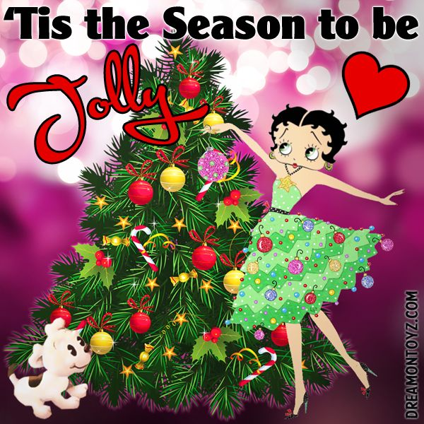77 best Christmas Betty Boop Graphics & Greetings images ...